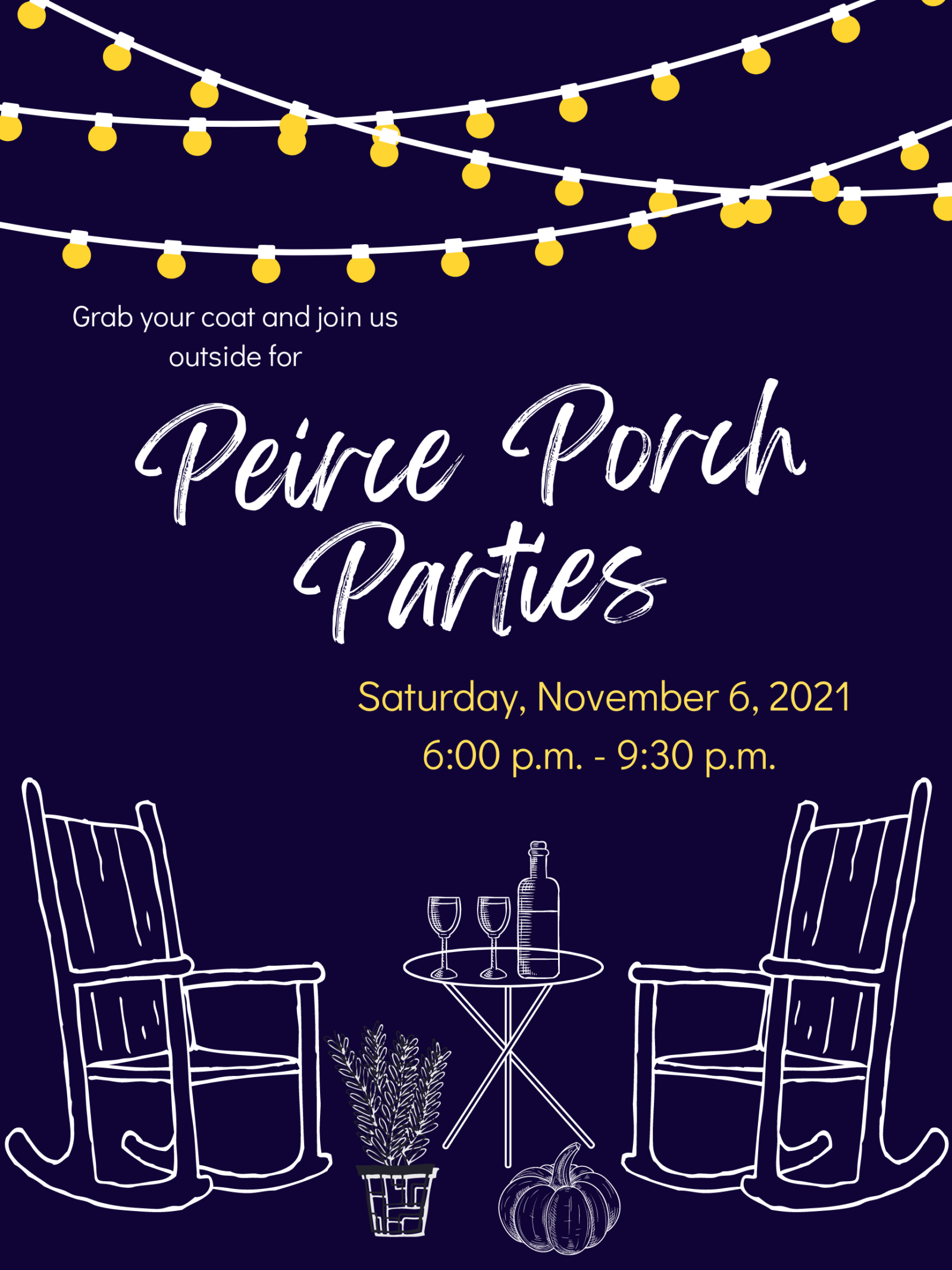 Porch Party Poster 9-22-21